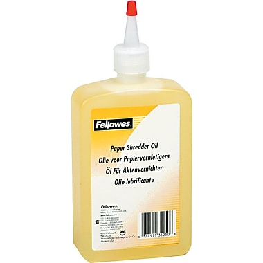 Fellowes Shredder Oil, 12oz.