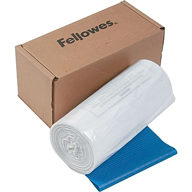 Fellowes Wastebags for Powershred 225Ci 225i 225Mi 125Ci 125i Series, 50/Roll