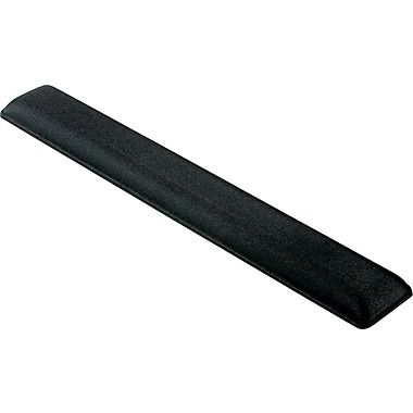 Fellowes Jewel Tones Gel Wrist Rest, Platinum