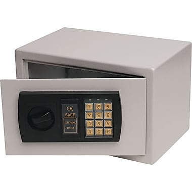 FireKing 0.3 cu.ft. Gary Lt. Gray Personal Electronic Fire Safe with Bolt Kit (HS1207)