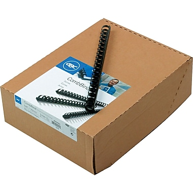GBC Plastic CombBind Binding Spines