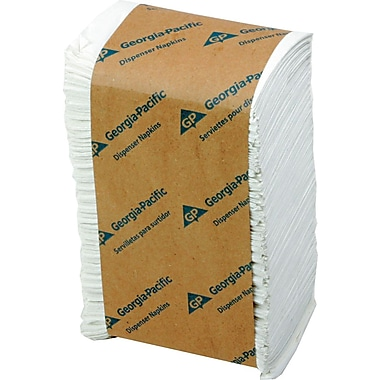Georgia Pacific® Dispenser Napkins, 1-Ply
