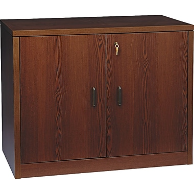 HON 10500 Series Storage Cabinet, 36in.W, Mahogany