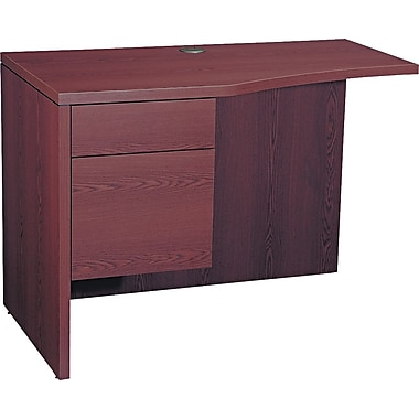 HON® 10500 Series Curved Left Return, Mahogany