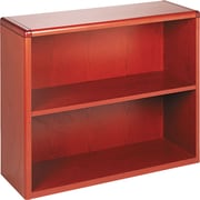 HON® 10700 Series 2-Shelf Bookcase, Henna Cherry