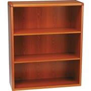 HON® 10700 Series, 3-Shelf Bookcase, Henna Cherry