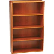 HON® 10700 Series, 4-Shelf Bookcase, Henna Cherry