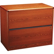 HON® 10700 Series 2-Drawer Lateral File, Henna Cherry
