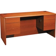 HON® 10700 Series 60 Credenza with Kneespace, Henna Cherry