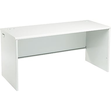 HON 38000 Series 60in. Credenza Shell, Light Gray/Light Gray