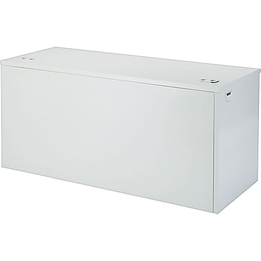 HON 38000 Series 60in. Left Return, Light Gray/Light Gray