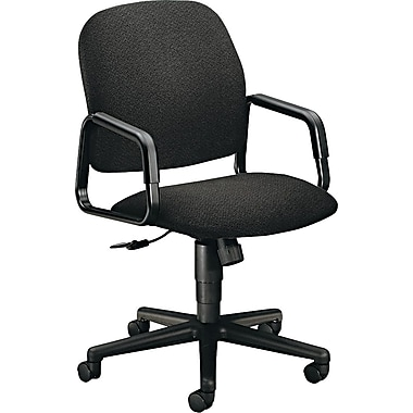 HON Solutions Seating® High Back Swivel/Tilt Chair, Olefin® Upholstery, Black