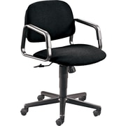 HON Solutions Seating Mid-Back Computer Chair for Office or Computer Desk, Black