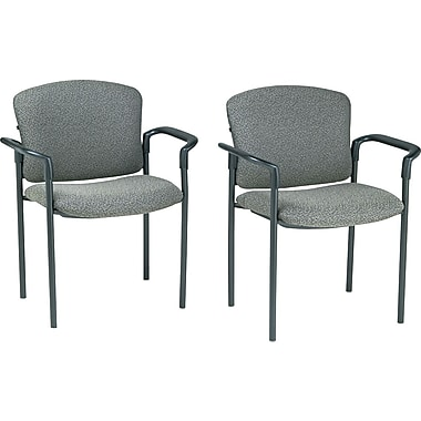HON® Pagoda 4070 Series Stacking Arm Chairs, 2/Pack