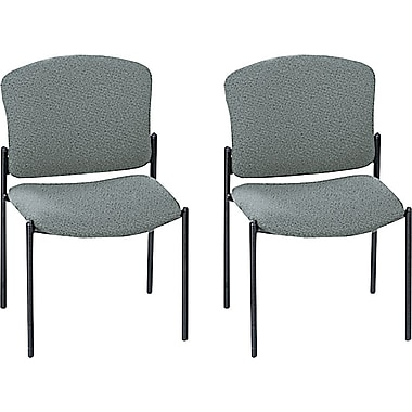 HON® Pagoda 4070 Series Stacking Armless Chairs, 2/Pack
