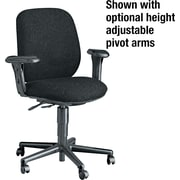 HON® 7700 Series Multi-Task Armless Chair, Black