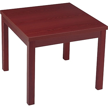 HON® Laminate Occasional Tables, Mahogany Corner Table