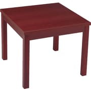 HON® Corner Occasional Table, Mahogany (HON80192NN)