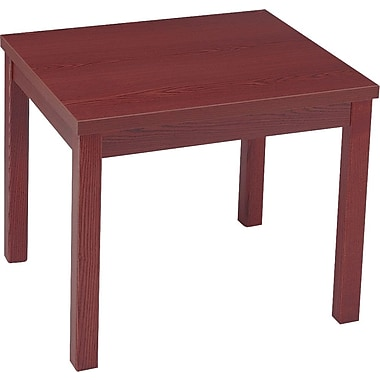 HON® Laminate Occasional Tables, Mahogany End Table