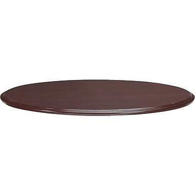 HON 94000 Series 4' Round Laminate Table Top Only, Mahogany
