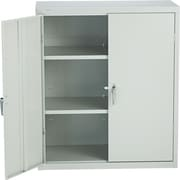 HON® Brigade®, 3-Shelf Assembled Storage Cabinets, 42H x 36W x 18D, Light Gray