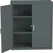 HON® Brigade®, 3-Shelf Assembled Storage Cabinets, 42H x 36W x 18D, Charcoal