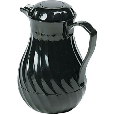 Hormel Poly-Lined Black Swirl Design, 64 oz.