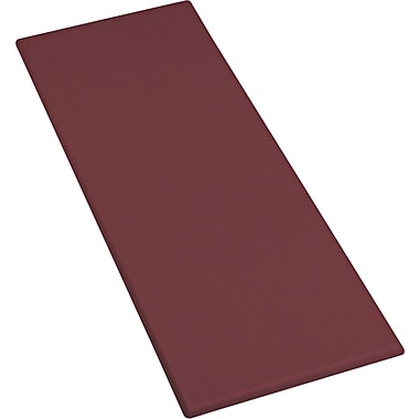 Iceberg OfficeWorks 23 1/2'' x 60'' Rectangular Table Top, Mahogany