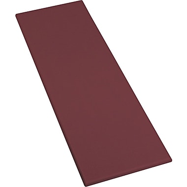 Iceberg OfficeWorks 23 1/2'' x 72'' Rectangular Table Top, Mahogany