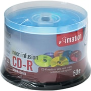 Imation 50/Pack 700MB Neon CD-R, Spindle
