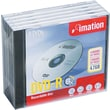 Imation 5/Pack 4.7GB DVD-R, Jewel Case