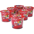 Kellogg's® Froot Loops Breakfast Cereal, 1.5 oz. Cups, 6 Cups/Box