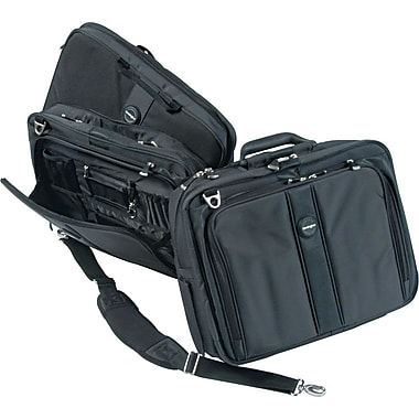 Kensington® Contour™ Pro Laptop Case, Black, 17in.