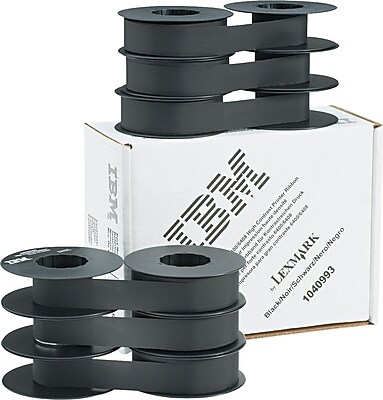High Contrast Nylon Ribbon by Lexmark for IBM 6400 6408 Printers