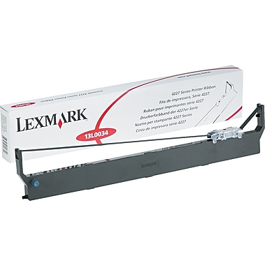 Lexmark 13L0034 Dot Matrix Technology Fabric Ribbon Lexmark 4227 Series