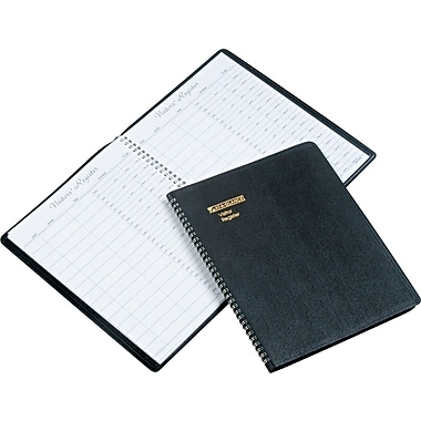At-A-Glance Wirebound Visitor Register Book, 8-1/2in. x 11in.