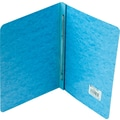 Acco Report Covers with Fasteners, 8 1/2in. c. to c.: 3in. Capacity, 8 1/2in. x 11in., Pressboard, Lt Blue