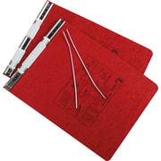 "ACCO PRESSTEX® Covers with Storage Hooks Data Binder, Executive Red, 9 1/2"" x 11"", 6"" (Ring Diameter)"