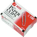 ACCO Economy Paper Clips, Silver Finish, #3 Size, 100/Bx, 10 Boxes/Pack