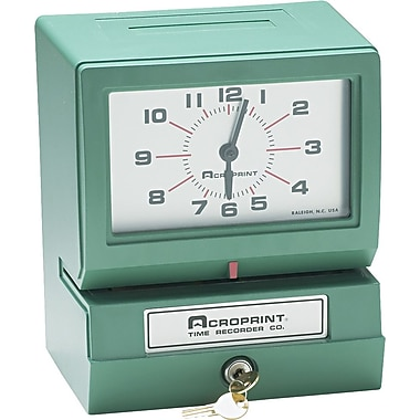 Acroprint® Electric Time Recorder, Day/Hour/Minute