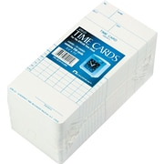 Time Cards for Acroprint  ATR121 Time Clocks