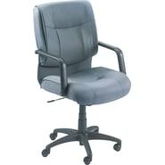 Alera® Stratus Series Mid-Back Swivel/Tilt Chair, Gray