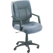 Alera® Stratus Series Mid-Back Swivel/Tilt Chair, Gray