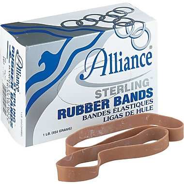 Alliance Sterling Rubber Bands, #107