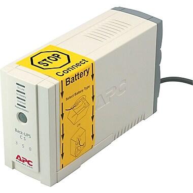 APC Back-UPS® CS 350VA 6-Outlet UPS (BK350)