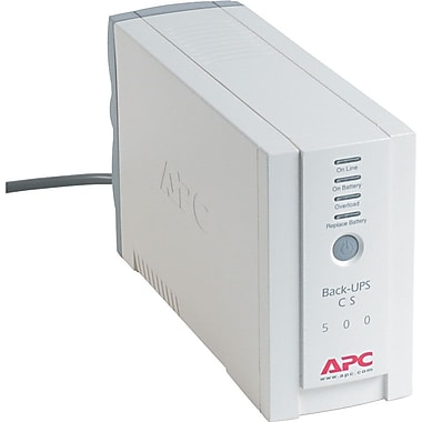 APC Back-UPS® CS 500VA 6-Outlet UPS (BK500)