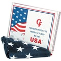 Advantus Outdoor U.S. Flag, White Canvas, 3' x 5'