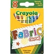 Crayola® Fabric Crayons, 8/Pack