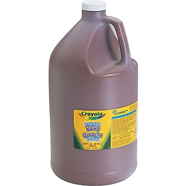 Crayola® Washable Paints, Brown, 1 Gallon