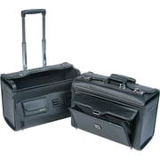 "Bond Street Catalog/Computer Case on Wheels, Black, 14 1/2""H x 19""W x 9""D"